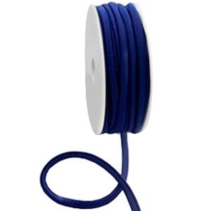 Stitched elastisch lint ibiza dark blue (per 25cm)