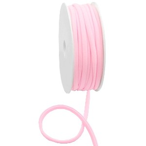 Stitched elastisch lint ibiza light rose (per 25cm)