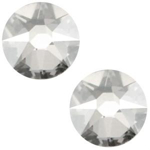 Swarovski platte steen SS34 flatback xirius rose crystal silver shade