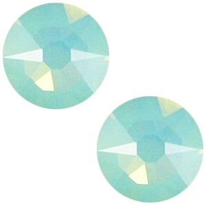 Swarovski platte steen SS34 flatback xirius rose pacific opal