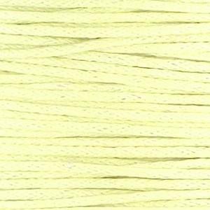Waxkoord 1mm pastel yellow per meter
