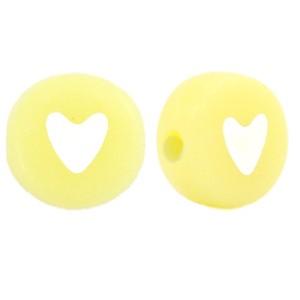 hartjeskralen-rond-7mm-yellow-iris